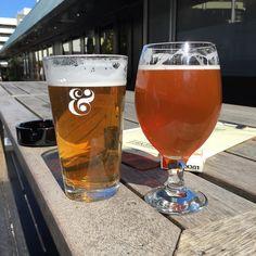 First stop for post-lunch #birthdaybrews.  #Wellington #beer #oredoublegoldenindiaale #goldmedalfamous #aotearoagoldenale #nitro #luckystrike by chelslikessandwiches