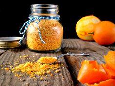 Polvere di bucce di arancia #ricette #food #recipes