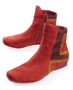 Think 'Kathinka', rot = chic und bequem Farb-und Stilberatung mit www.farben-reich.com