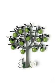 apple tree brooch by Grainne Morton