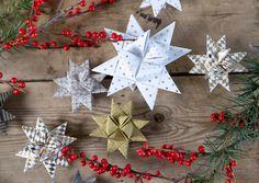 Elk jaar worstelt Clara met het vouwen van papieren kerststerren. In deze video kun je leren hoe je papieren sterren kunt vouwen van papieren stroken.
