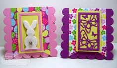 You've Been Framed - Spring 3x3 Notecards by Tracy Clemente #Cardmaking, #TEMatched, #Easter, #3x3Notecards, #TayloredFelt, #TE, #ShareJoy