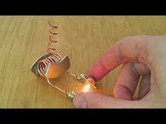 free energy device tested on light bulb - YouTube