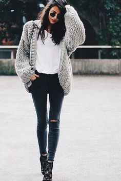 30 cute casual winter fashion outfits for teen girl Daily Fashion, Look Fashion, Womens Fashion, Fashion Trends, Ladies Fashion, Fashion News, Net Fashion, Fashion Sale, Runway Fashion