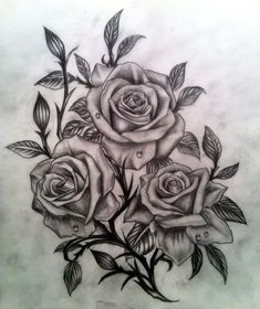 Rose sketch by CalebSlabzzzGraham.deviantart.com on @DeviantArt