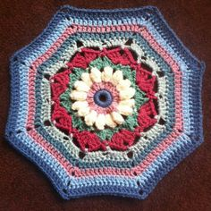 """J. E. Holden - PART 1 ♡ Carousel Blanket CAL  2016 (Sept. 13 - Nov. 15) - Created By Sue Pinner - Free Crochet Pattern - In US & UK Terms, and also in German and Dutch. PATTERN Available on Stylecraft Yarn's CAL Page. You may use the Designer's colors or your own. ***Make sure to join the Facebook Group """"Official Stylecraft Sue Pinner CAL"""" (link on the Ravelry page also) for help, ideas, support, so much more!! ... it's a great Group with wonderful people!!!"""