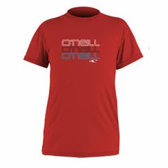 O Neill Toddlers Red UV Swim Shirt - Click for more information and to buy