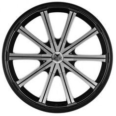 358421e72bf875 Wolfrace Genesis 22 Inch Alloy Wheels Black Polished Black Rim Used Cars  Online