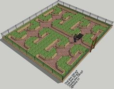 Keyholes, Raised Beds and Maximising Gardening Space - 3 Hyper Efficient Garden Layouts - Chop Wood, Carry Water