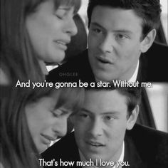 Glee - this moment breaks my heart