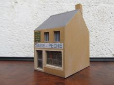 Un magasin chasse et pêche (fishing hunting store) HO (1:87)
