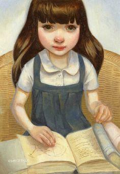 Matilda, little big reader / Matilda, pequeña gran lectora (ilustración de Chrystal Chan)