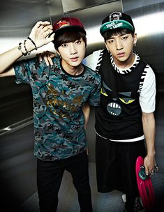 Jin Young and Baro - Hats On