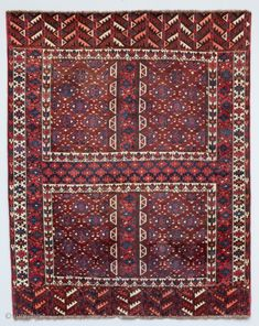 Turkmen Yomud Ensi 176 x 138 cm