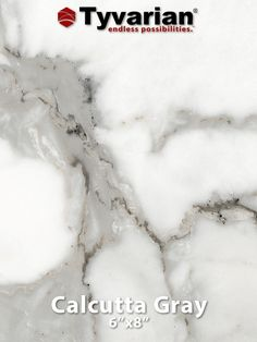Calcutta Gray   Tyvarian Is Manufactured Using Technology That Incorporates  High Definition Images Into Cultured Marble