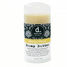 Mango Mama Bump Butter – Nourish your growing belly with rich mango, cocoa, and shea butters to help your skin stretch. Re-establish moisture and keep your belly looking beautiful all in one step. Packaged in a convenient stick form for easy and mess free application, this is absolutely heaven on itchy bellies.  Mango Mama Bump Butter pregnancy balm is a must have for any expecting mother. You'll be thankful you picked some up! Natural Essential Oils, Essential Oil Blends, Cocoa Butter, Shea Butter, Grapefruit Essential Oil, Rosehip Oil, Organic Coconut Oil, Tea Tree, Vitamin E