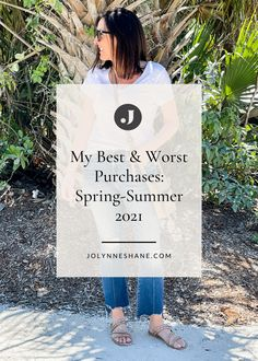 Fashion expert Jo-Lynne Shane shares what wardrobe purchases made her feel stylish this spring and summer. Check out the post for more fashion tips and tricks. Everyday Casual Outfits, White Skinnies, Beautiful Sandals, Fashion For Women Over 40, Night Looks, Spring Summer Fashion, I Am Awesome, Feelings, Stylish