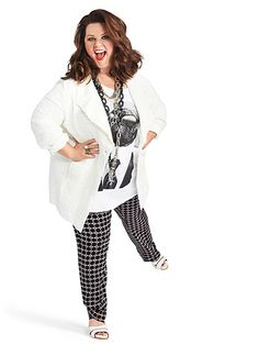 Melissa McCarthy Interview - Melissa McCartney on Ben Falcone and Plus-Size Fashion - Redbook