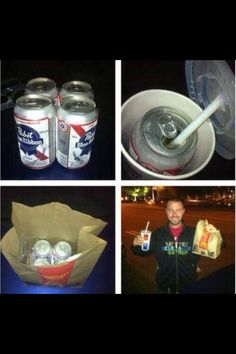 Hide alcohol like a pro