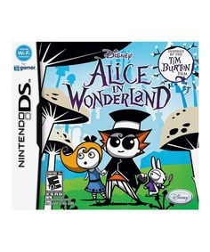 Adorable darling will certainly enjoy this video game inspired by Tim Burton's Alice in Wonderland film. Petite player will have to think creatively to solve a variety so puzzles and challenging quest to defeat the Red Queen and the Jabberwocky.Compatible with Nintendo DSRated E for everyoneImported