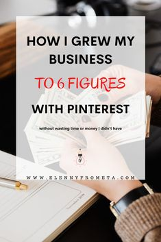 How I Make 6 Figures with Pinterest - Elenny Frometa