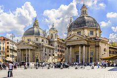 Piazza del Popolo, Rome, Italy by D200-PAUL