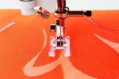 Amazon.com: Brother SA147 7mm Open Toe Foot: Arts, Crafts & Sewing