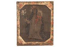 Peruvian Cusco Madonna and Child