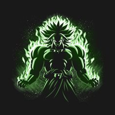 Check out this awesome 'Legendary+Broly' design on @TeePublic!