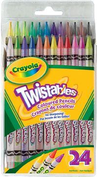 18 ct. Twistables Colored Pencils