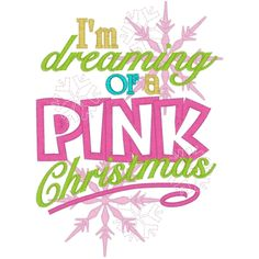 Dreaming of a pink christmas