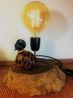 Les lampes en bois tourné par ACHILLE CREATIONS Lamp, Desk Lamp, Decor, Home Decor
