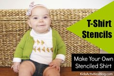 TShirt Stencils: {Make Your Own} Stenciled Shirt