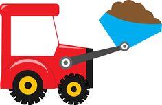 Meios de Transporte - Minus Construction For Kids, Construction Birthday Parties, Construction Theme, Cars Birthday Parties, Tractor Birthday, Baby Boy 1st Birthday, Art Transportation, Textile Pattern Design, Applique Patterns