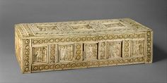Casket with Warriors and Mythological Figures | Byzantine | The Metropolitan Museum of Art
