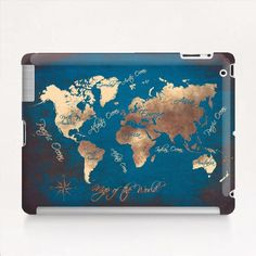 map of the world Tablet Case by jbjart