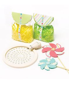 Pinwheel Treat Bags