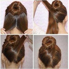 (1) Tutorial acconciature capelli passo dopo passo. | via Facebook