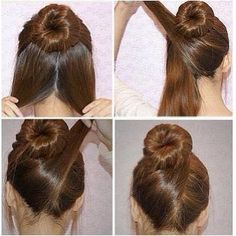 Easy hairstyles.