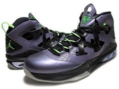 dbcc687dc29c61 NIKE JORDAN Melo M9 Allstar Mens Blacklight Purple Blk Shoes  587858 539   Sz 11