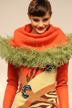 Brand:YUKIKO HANAI 2012-13 AW didn't know what to wear.... so i thought i'd come as a giant carrot bahaha
