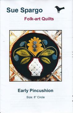 Early Pincushion by LavenderQuiltShop on Etsy