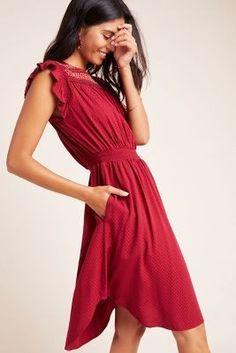Tansy Smocked Midi Dress