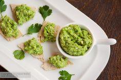 Vegan Green Pea and Walnut Spread