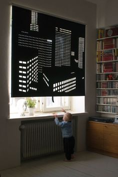 Better View by Elina Aalto Roller Blinds - very clever.