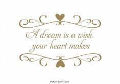 A Dream Is a Wish Your Heart Makes ~Cinderella