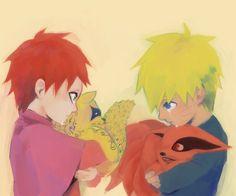 Naruto - Gaara no Suna x Naruto Uzumaki - GaaNaru