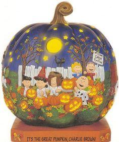 Danbury Mint catalog-Peanuts Halloween (by