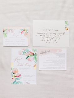 Photography : Ashley Kelemen | Invitations : Yao Cheng Design | Invitations : Smitten On Paper Read More on SMP: http://www.stylemepretty.com/2014/11/04/romantic-spring-hudson-valley-wedding/