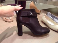Chanel ankle boots @ Neiman Marcus